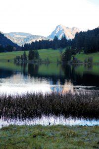 silke tauchert/fotofee-st.de/bergsee/herbst/vilsalpsee